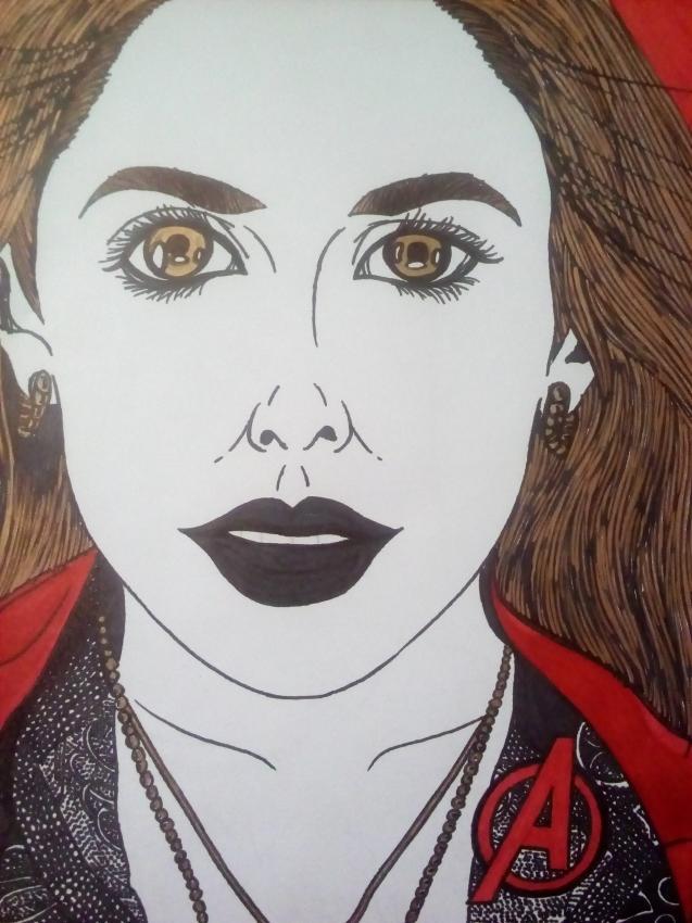 Elizabeth Olsen by nickmangaka